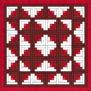Log Cabin Quilt is One of the Easiest Quilt Blocks to Construct. : log cabin quilt block history - Adamdwight.com