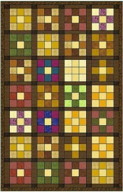 youu0027ve seen quilts that you simply canu0027t take your eyes off despite the different periods and style a nine patch quilt screams of country but yet it seems