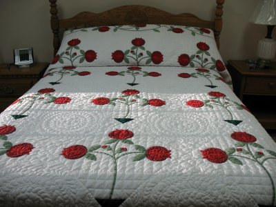 Applique quilt patterns give meaning to applique quilting