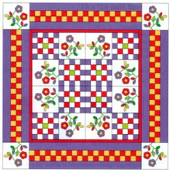 A Pieced Border Looks Complicated : pieced borders for quilts - Adamdwight.com