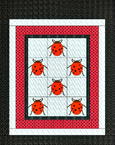 The Ladybug Quilt Pattern Makes an Adorable Gift for a Child or Adult : lady bug quilts - Adamdwight.com
