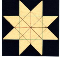 How to Quilt - Lemoyne Star Quilt Pattern and Tutorial