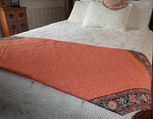 A Quilt Backing Needs To Be Squared Before Loading On A Frame
