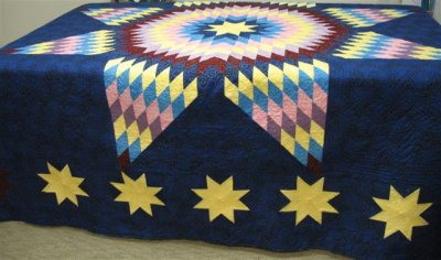 Star of Bethlehem - Michelle Yeo Quilt Designs