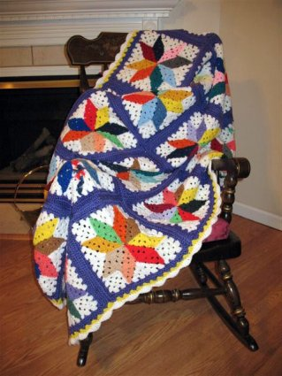 QUILT PATTERN CROCHET AFGHAN - Free Crochet Patterns