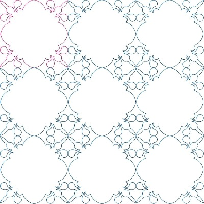 Snowball Frame Quilt Block Pattern - About