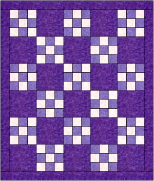 This Nine Patch Quilt Tutorial will cut your Learning Time to a ... : nine block quilt pattern - Adamdwight.com