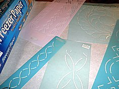Hand Quilting 20-Stitches to the Inch : quilt stencils for hand quilting - Adamdwight.com