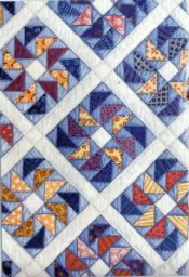 flying geese quilt pattern