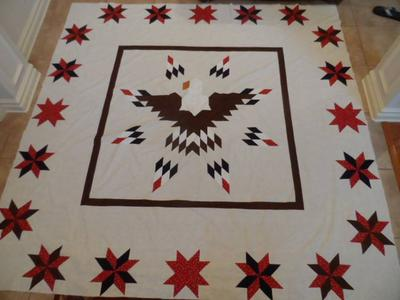 Lone Star Eagle Quilt